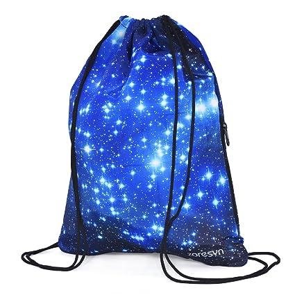 Amazon.com: Bolsa de cordón cordón mochila Sackpack ...