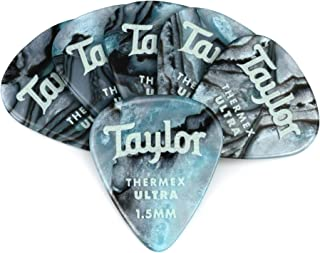 product image for Taylor Guitars DarkTone 351 Abalone Thermex Ultra Picks, 6 Pack, 1.5 mm