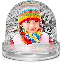 Bola de Nieve Personalizada con tu Foto, diseño