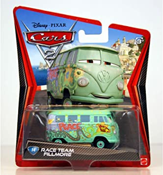 """/""""Race Team Fillmore/"""" Combined Postage DISNEY CARS DIECAST"""