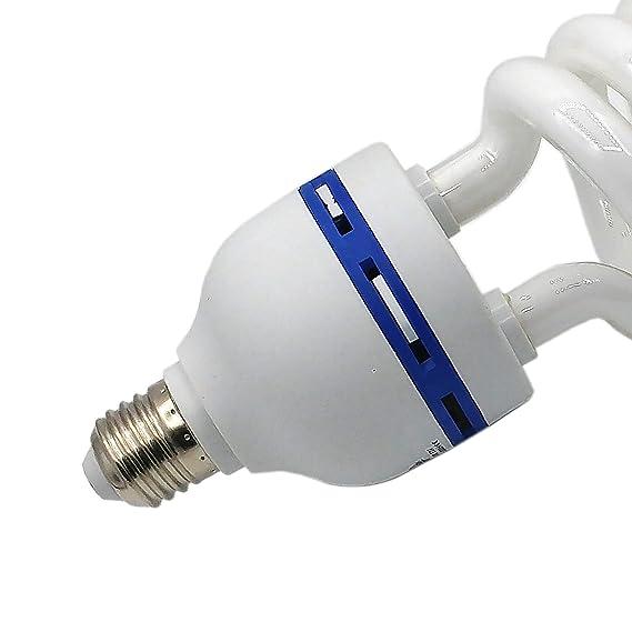 MOUNGDOG 45W Fotolampe Fotoleuchte Tageslichtlampe Gl/ühlampe Dauerlicht 5500K Energiesparlampe E27 Birne f/ür Fotostudio Studioleuchte