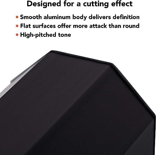 Meinl Octagonal Medium Aluminum Shaker Black