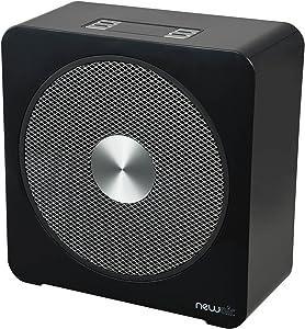NewAir Portable Ceramic Space Heater, Black
