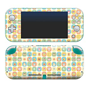 """Controller Gear Authentic and Officially Licensed Animal Crossing: New Horizons - """"Fruit Icons"""" Nintendo Switch Lite Skin"""
