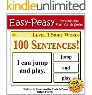 Early Readers: Level 1 Sight Words Book - 7 Easy to Read Stories ...