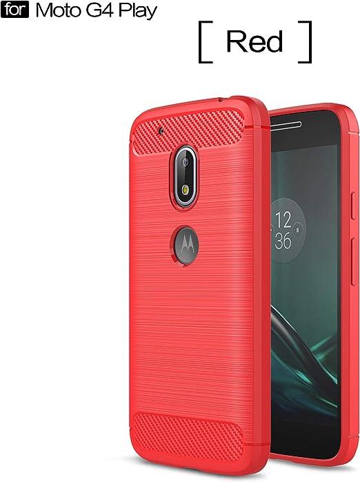 YFXP Funda Motorola Moto G4 Play con Cristal Templado, Motorola ...