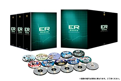 amazon er緊急救命室 シーズン1 15 dvd全巻セット 90枚組 tvドラマ