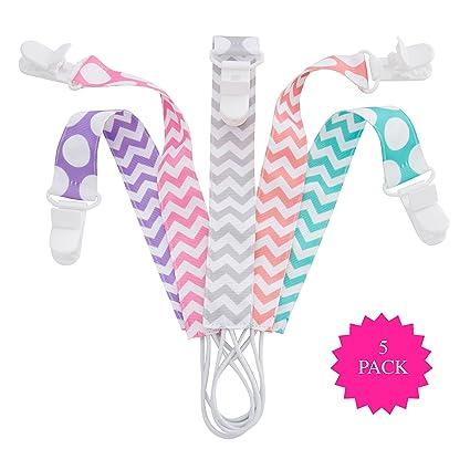 BaeBae Goods Clip-5 Pack de 5 Mejores Soportes universales para niña ...