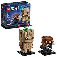LEGO BrickHeadz, Marvel, Groot y Rocket 41626