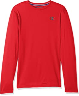 7380b4d2 Champion Men's Double Dry Mesh Heather Long Sleeve T-Shirt | Amazon.com