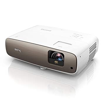 BenQ W2700 - Proyector Home Cinema UHD 4K HDR-PRO (3840x2160), DLP, DCI-P3, con correccion trapezoidal automática