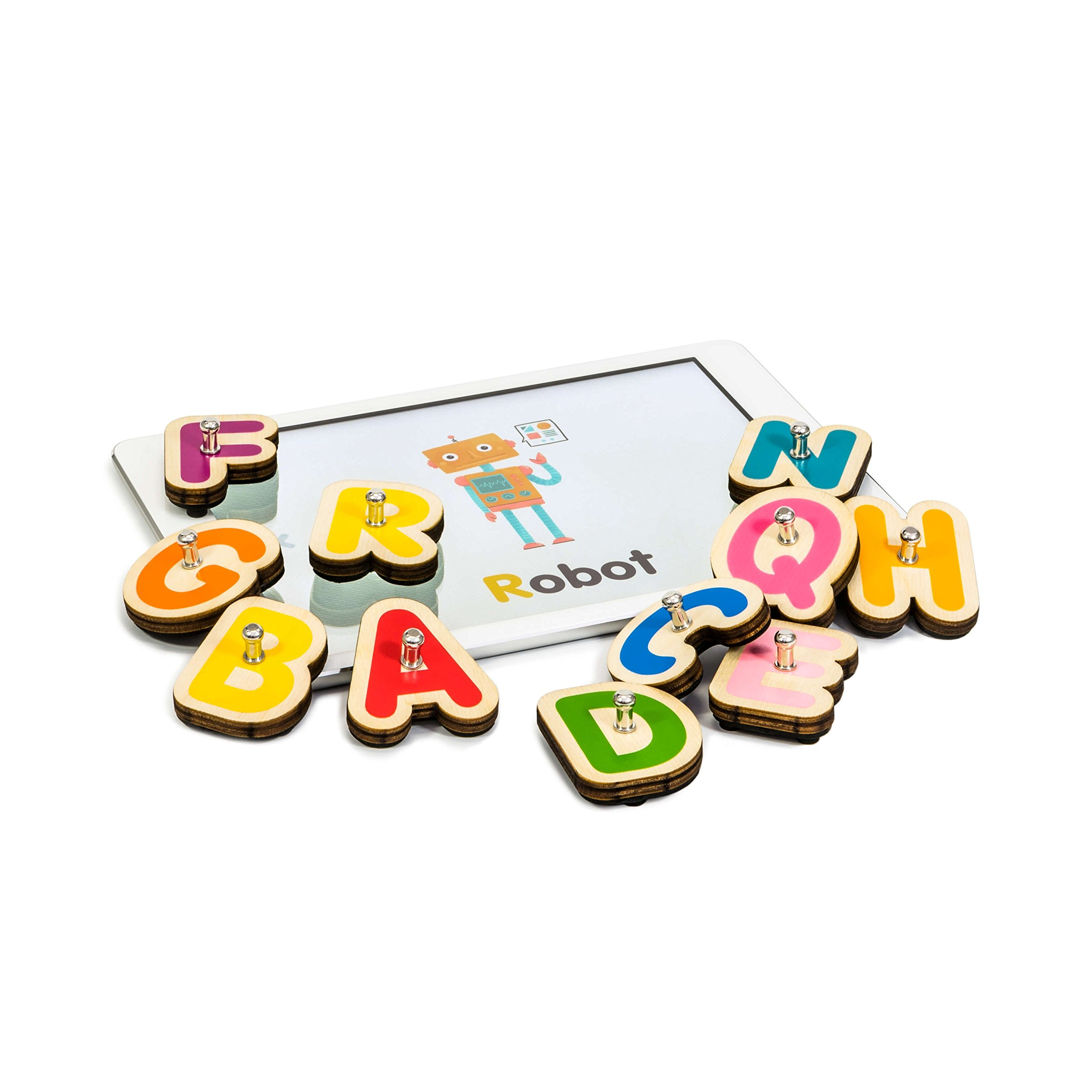 Marbotic Smart Letters - Interactive alphabet toys for tablet