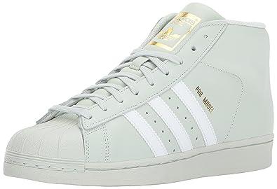 4b728c8a5e adidas Originals Men s PRO Model Running Shoe Linen Green White Gold  Metallic 11 M