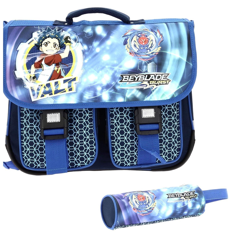 Valt Beyblade Burst - Set de útiles escolares niños niños escolares Azul azul b019e2