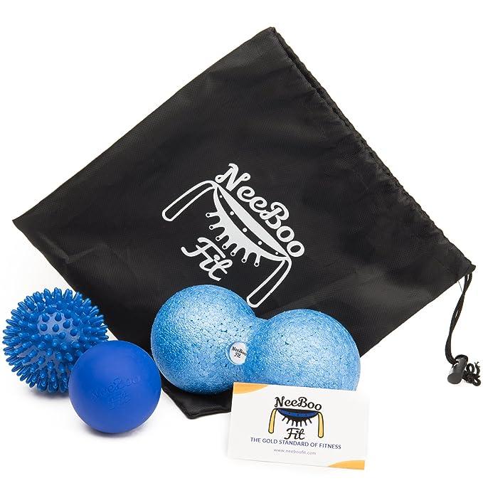 Amazon.com: neeboofit bola de masaje (– 3 unidades – Pelota ...