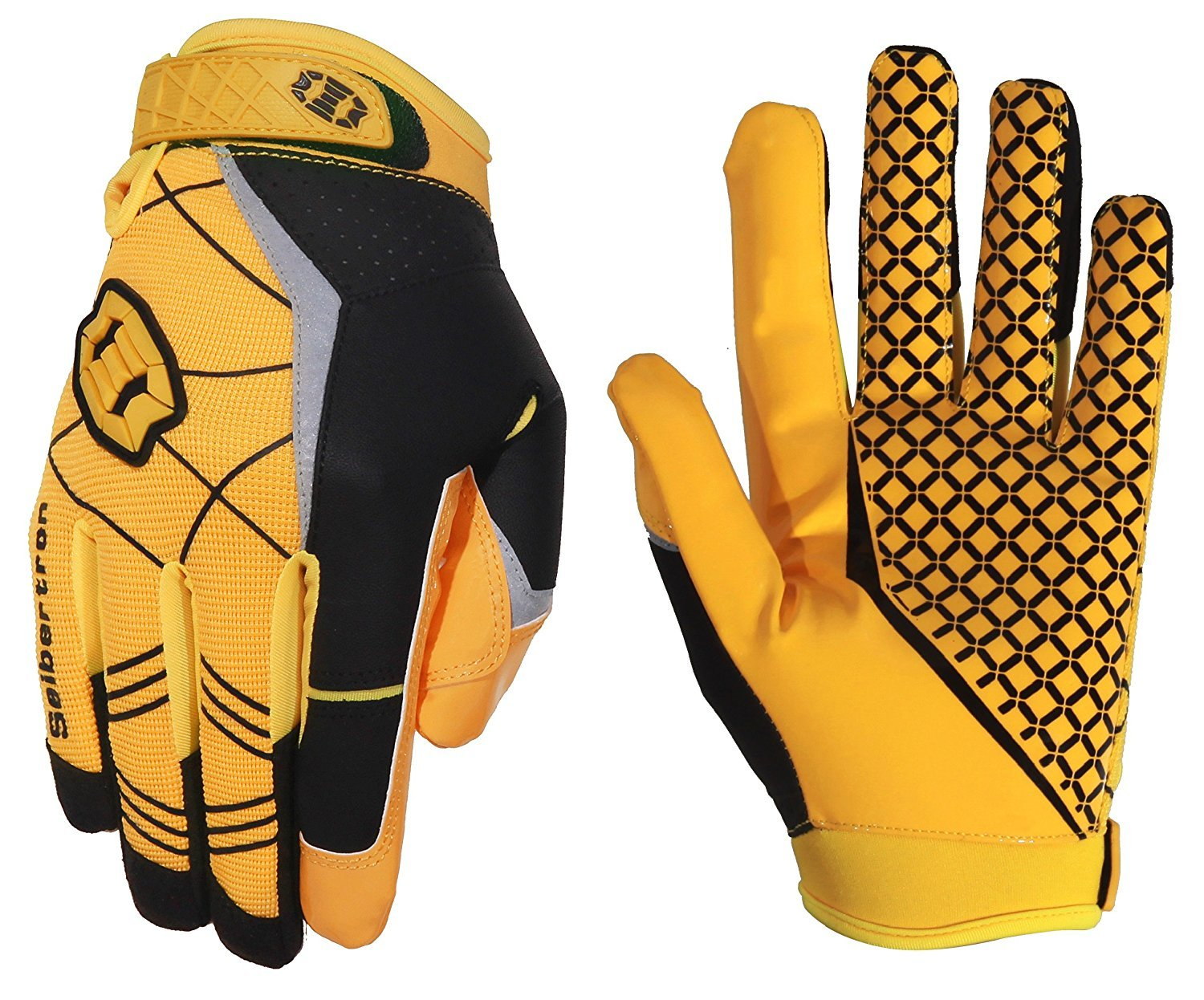 Seibertron Pro 3.0 Elite Ultra-Stick Sports Receiver Glove American Football Gloves Youth and Adult/Guantes de Fútbol Americano para Juventud y Adulto Limited
