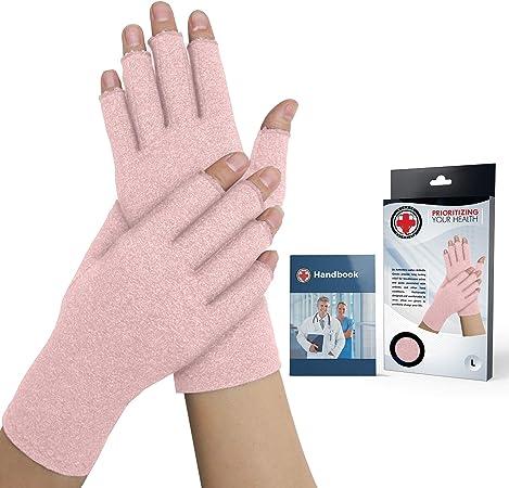 ECMQS Paire de Gants de Compression Arthritis pour Homme Femme Arthritis Gants de Compression Gant Agit Soulagement de la Douleur Lors du rhummatoide