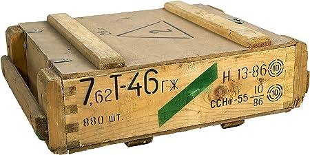 Caja de munición T45Natural-Caja para guardar CA 49x 37x 18cm ...