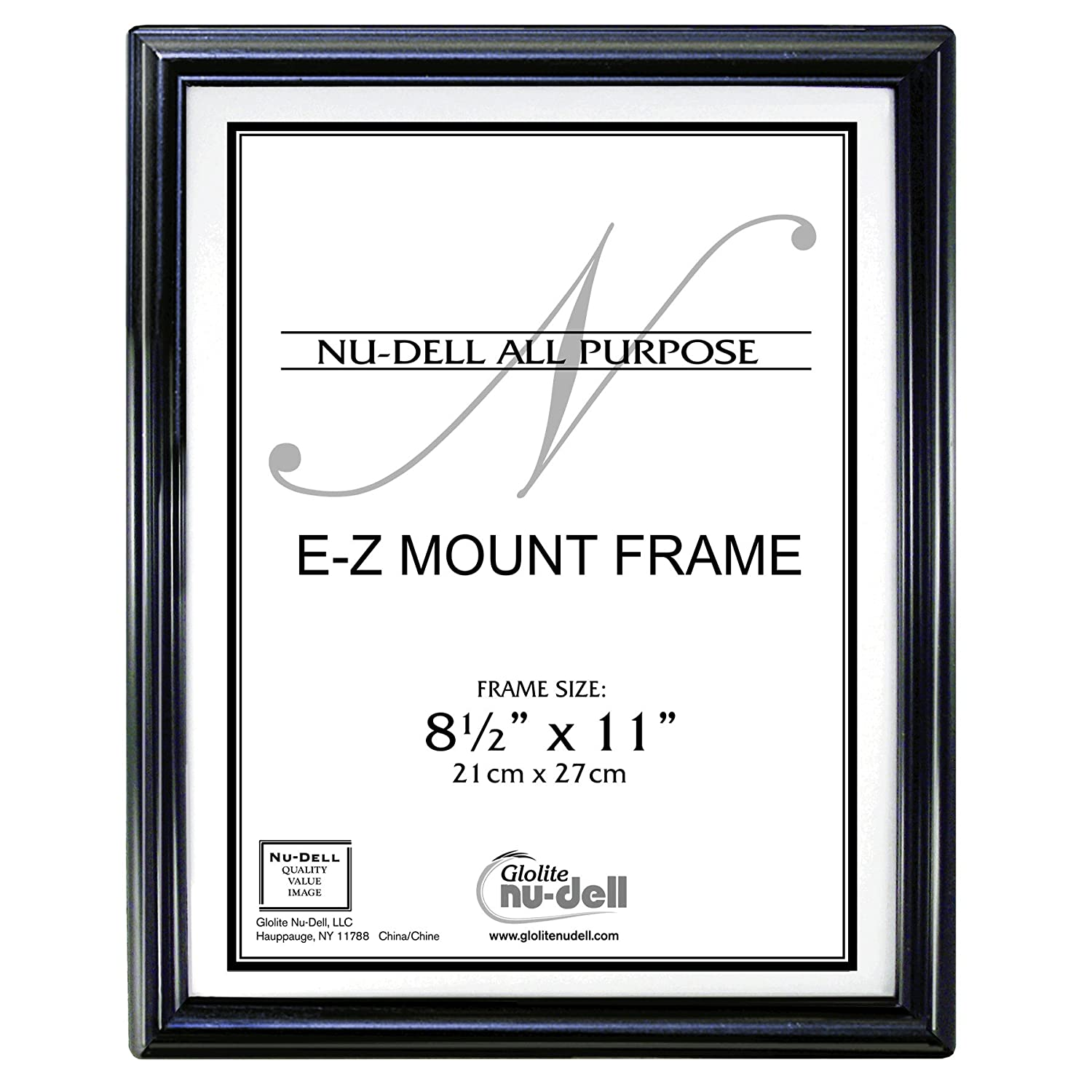 Document Frame for Certificate Diploma Picture Decor 8.5x11\