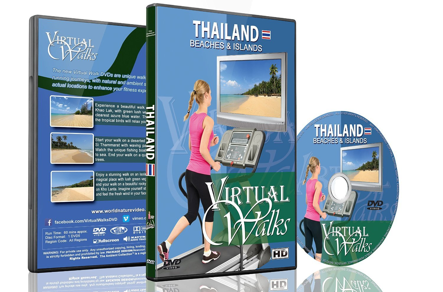 Virtual Walks - Thailand Beaches and Islands for Indoor Walking ...