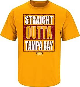 Bucco Bruce Ladies Creamsicle Orange Shirt Sm-2x Tampa Bay Football Fans