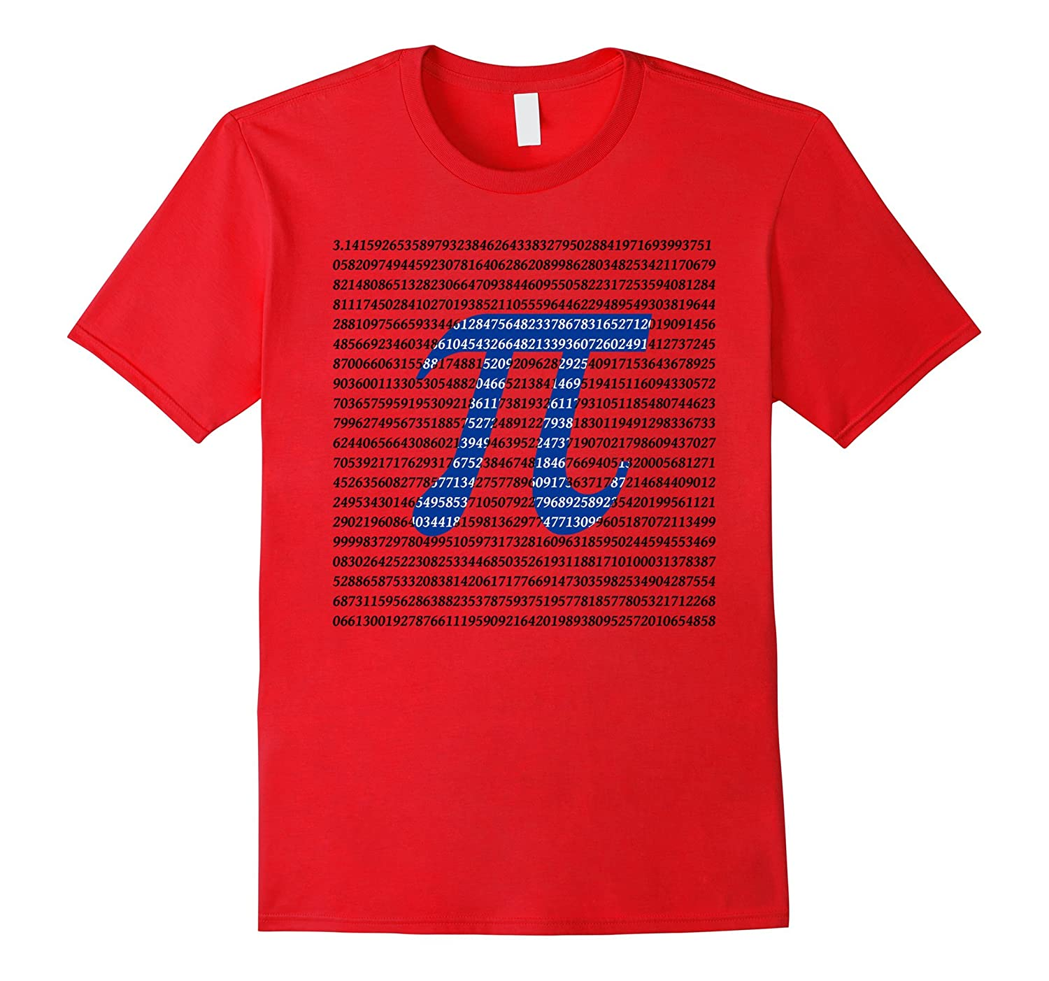 1000 digits of Pi Shirt - PiDayShirt-TD