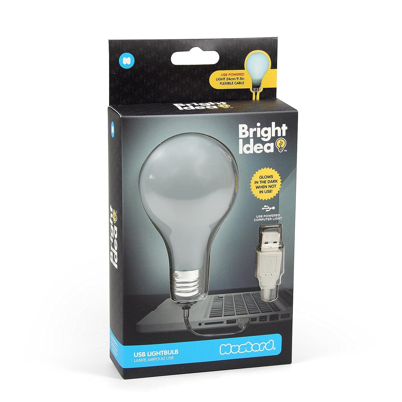 MUSTARD - Bright Idea USB Lightbulb I USB Lamp Light I Usb ...
