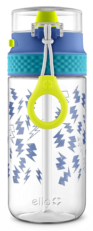 Ello Stratus Tritan Plastic Water Bottle Blue//Grey 16 oz.