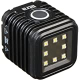 LitraTorch - 800 Lumen Led Camera Light for Photos and Videos, Waterproof, Military-Grade Ruggedness, 4-Hour Rechargeable Battery, 5700K Daylight Temperature, Multiple Mount Points (Single - Black)