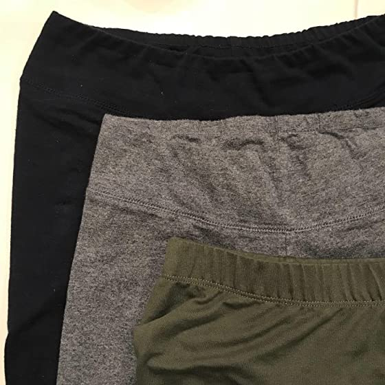 EttelLut Cotton Spandex Basic Leggings Pants-Jersey Full/Capri Regular/Plus Size Pants, pajamas, and sometimes even a napkin.