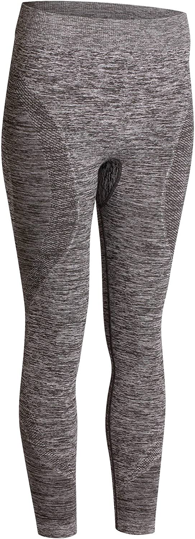 Womens Seamless 7//8 Yoga Leggings Heathered