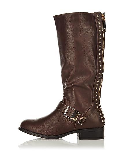 Toutpourtoi Women's Boots Khaki 4 UK