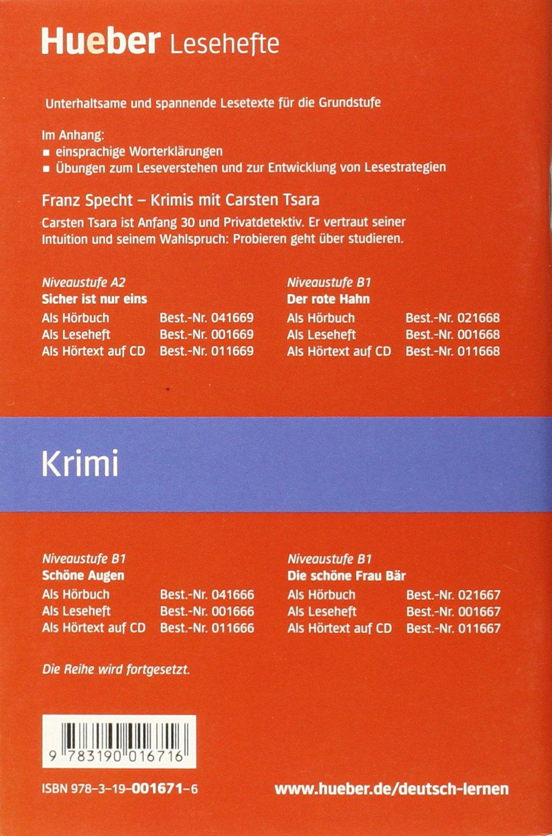Die Angst und der Tod: Franz Specht: 9783190016716: Amazon.com: Books