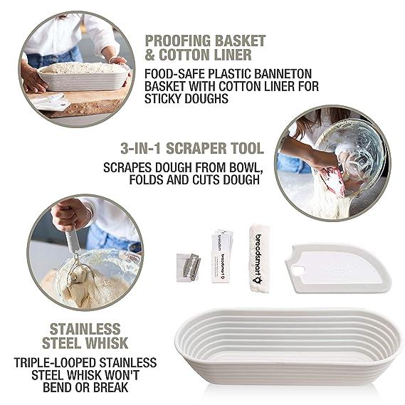 Amazon.com: Breadsmart - Juego de herramientas para hornear ...