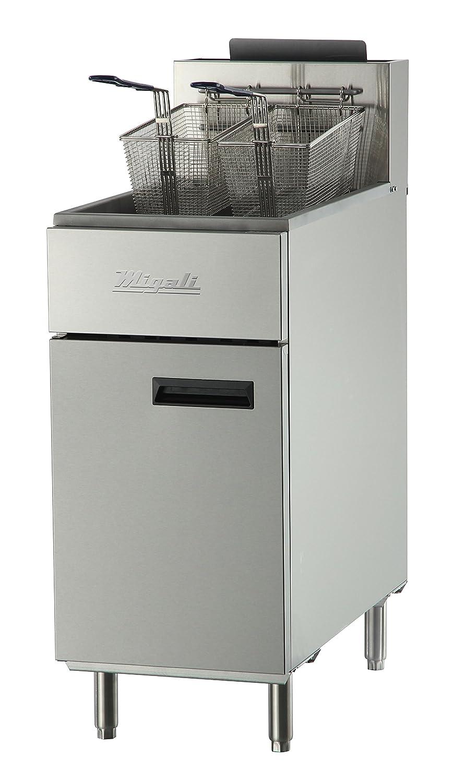 Amazon.com: Migali C-F40-LP Competitor Series Fryer, Liquid Propane Gas, Floor Model, 15.6