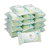 Amazon Marke -  Mama Bear Fresh Baby-Feuchttücher – 15er Packung (840 Tücher)