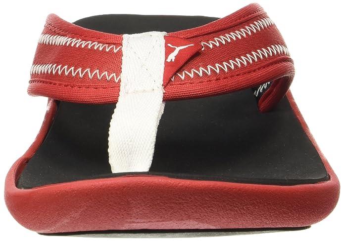 020ae537459f2 Puma Men s Cult Idp H2T High Risk Red and Black Flip Flops Thong Sandals   Amazon.co.uk  Shoes   Bags
