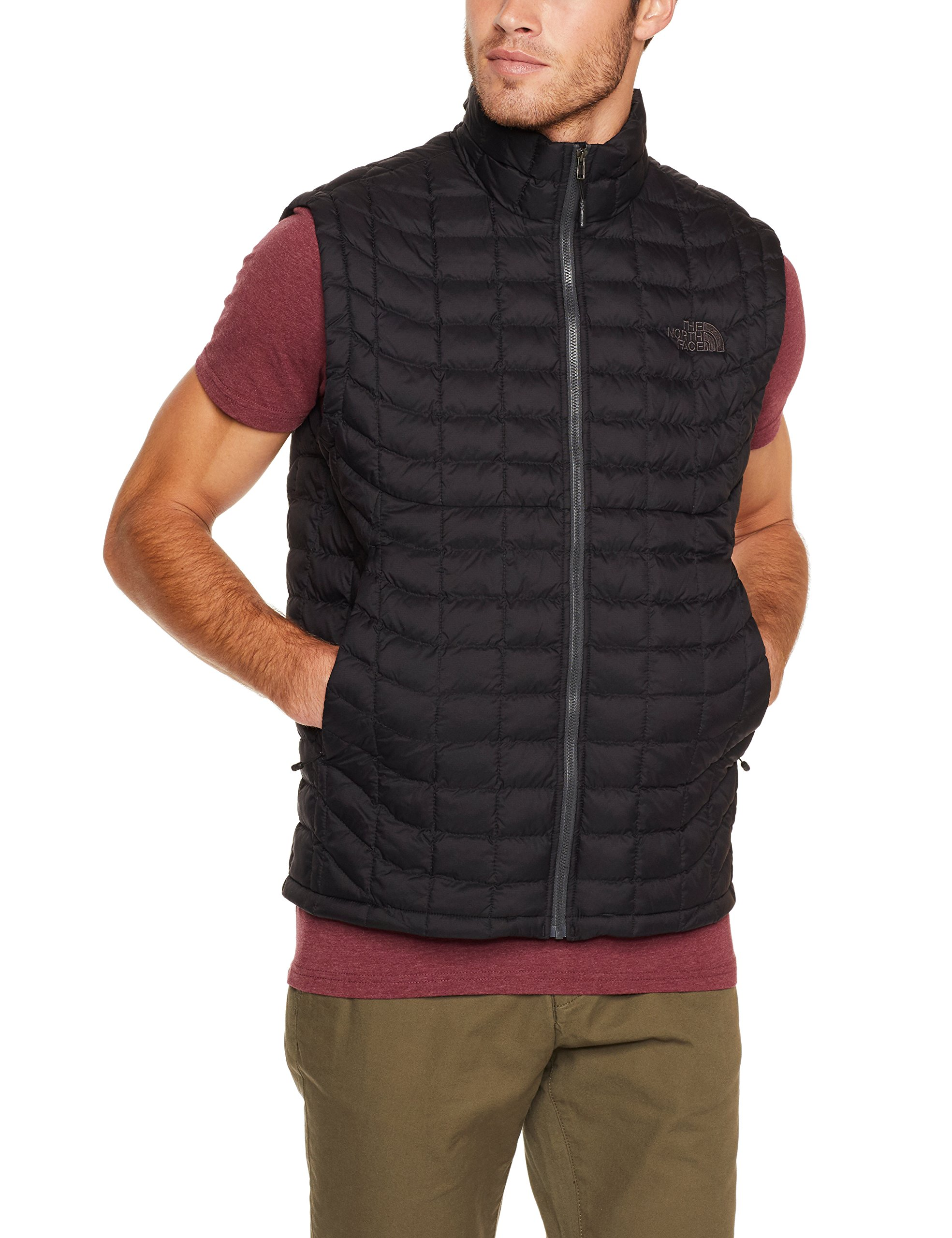 The North Face Men's Thermoball Vest TNF Black Matte - L by The North Face