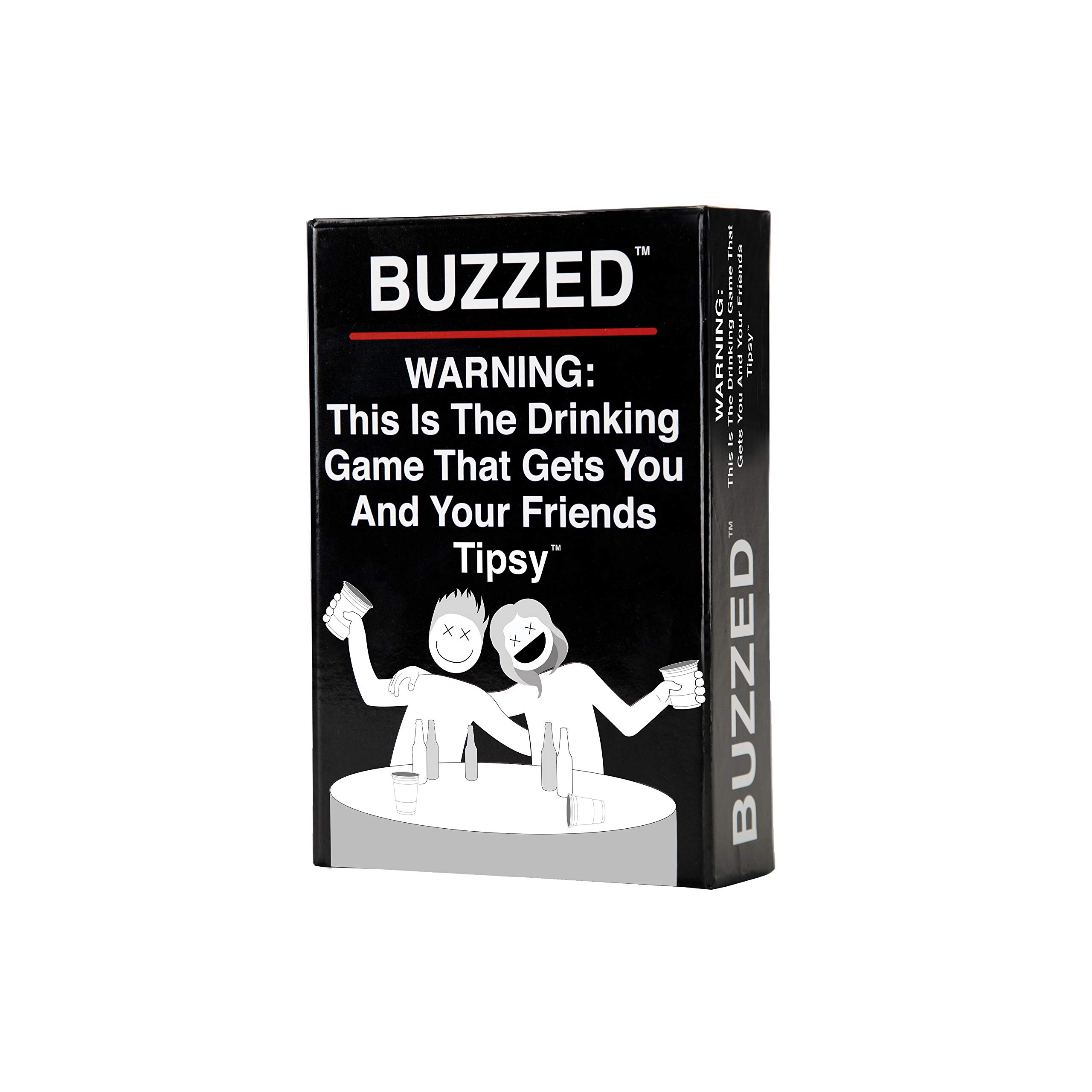 Buzzed – This is The Drinking Game That Gets You and Your Friends Tipsy!