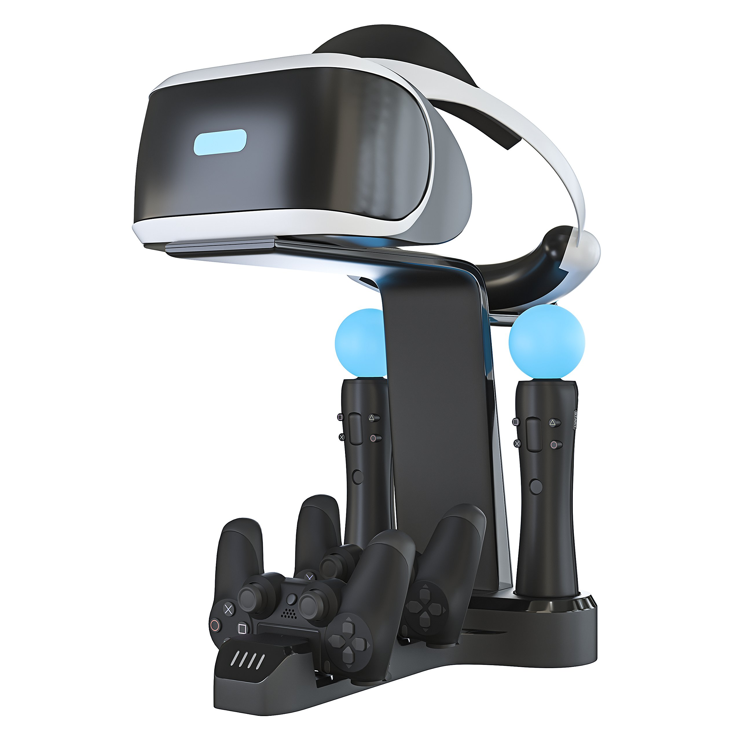 Skywin Playstation VR Charging Stand - PSVR Charging Stand to Showcase, Display, and Charge Your PS4 VR by Skywin