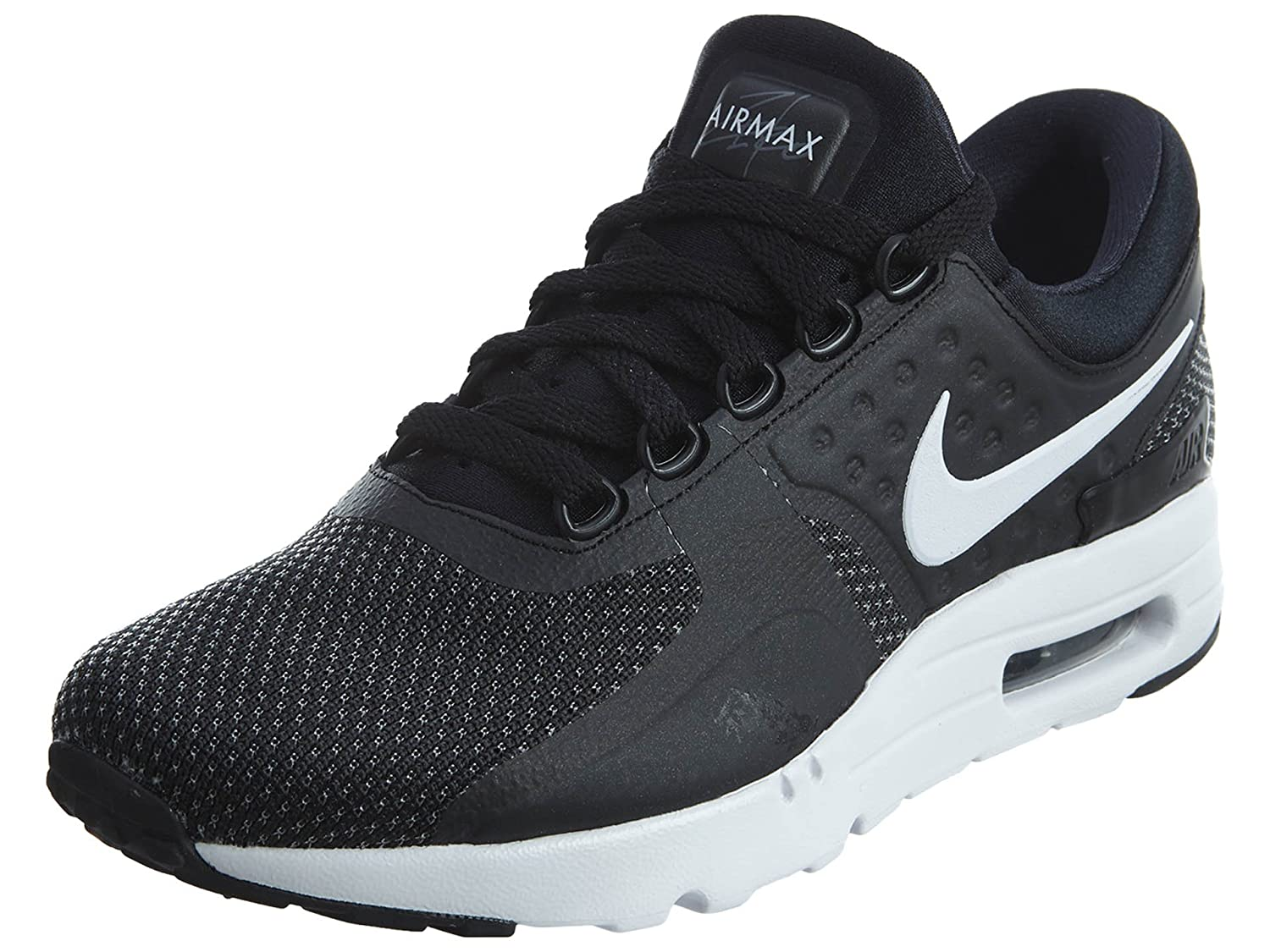 3ee31831c547 Nike Men s Air Max Zero Essential Black White Dark Grey Running Shoe 9. 5  Men US  Buy Online at Low Prices in India - Amazon.in