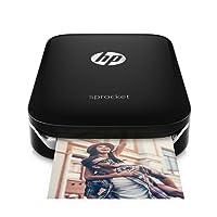 HP Sprocket z3z92a–Fotodrucker Instant Notebook, schwarz (Foto 5x 7,6cm)
