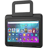 Amazon Kid-Friendly Case for Fire HD 8 tablet (Only compatible with 10th generation tablet, 2020 release), Black