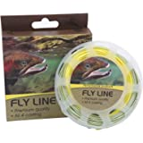 Maxcatch Fly Line with Welded Loop Weight Forward Floating Line 100ft Orange/Blue (3F/4F/5F/6F/7F/8F)