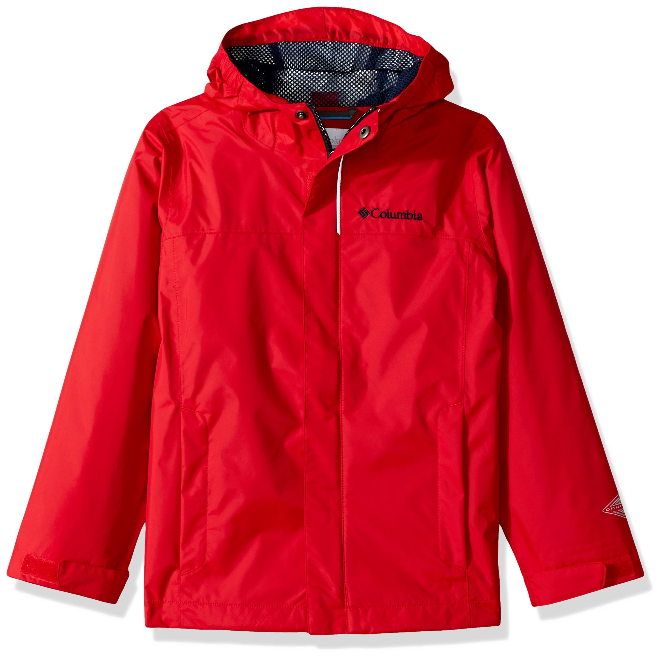 Columbia Little Boys' Watertight Jacket, Mountain Red, Small by Columbia