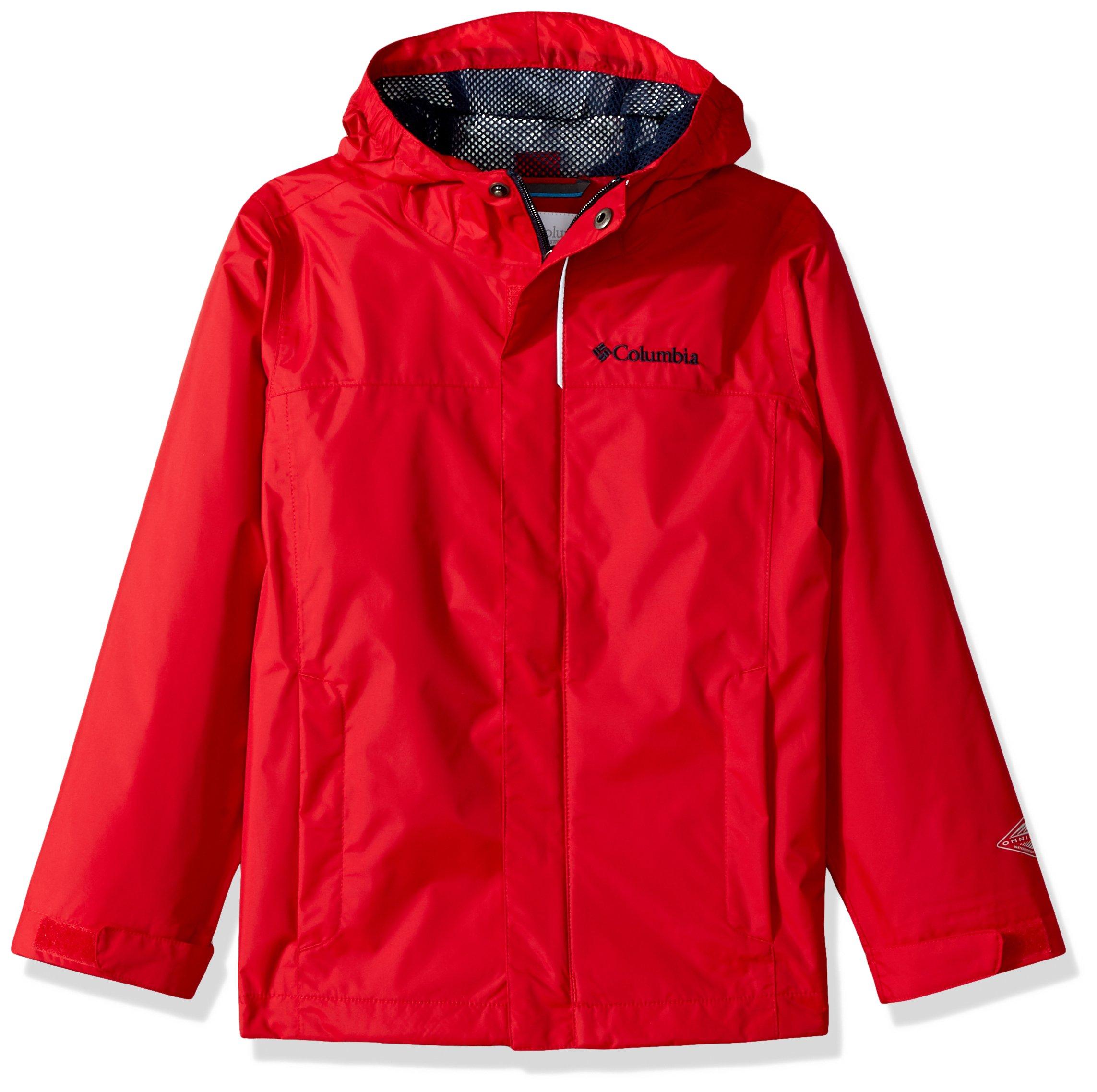 Columbia Boys' Little Watertight Jacket, Mountain Red, X-Small