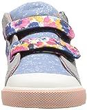 See Kai Run Girls' Kya Sneaker, Blue Watercolor