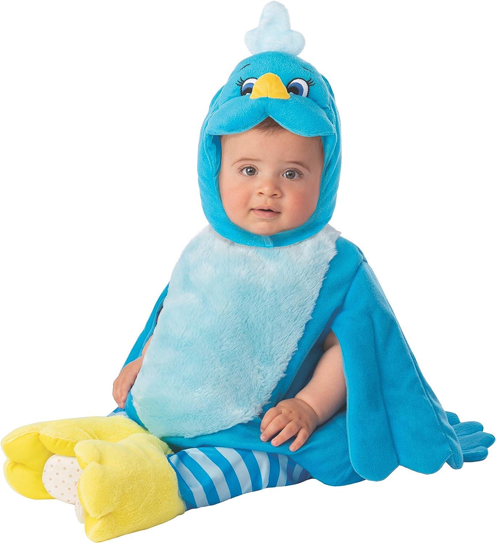 Arca de Noe - Disfraz Pájaro infantil, color azul, Talla 1-2 años ...