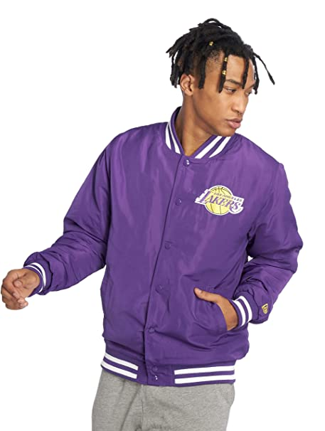 New Era Los Angeles Lakers Giacca Bomber  Amazon.it  Abbigliamento ba98eff4e2e5
