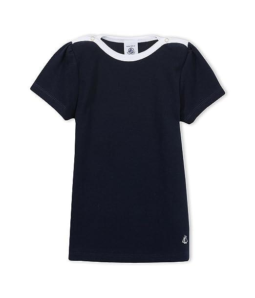 4f1e680efe3 Petit Bateau Girl s MC T-Shirt  Amazon.co.uk  Clothing